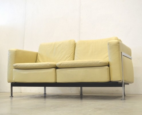 RH 302 Natural Beige sofa by Robert Haussmann for De Sede, 1960s