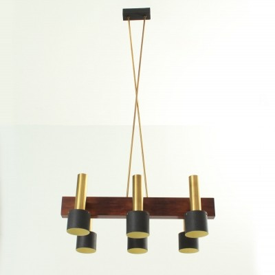 Large Chandelier with six lights from 1950s