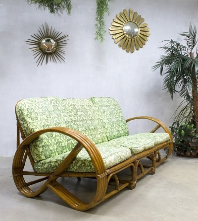 Bamboo sofa by Rohé Noordwolde, 1950s