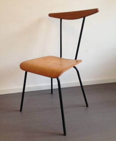 2 x Dress boy dinner chair by Wim Rietveld for Auping, 1950s