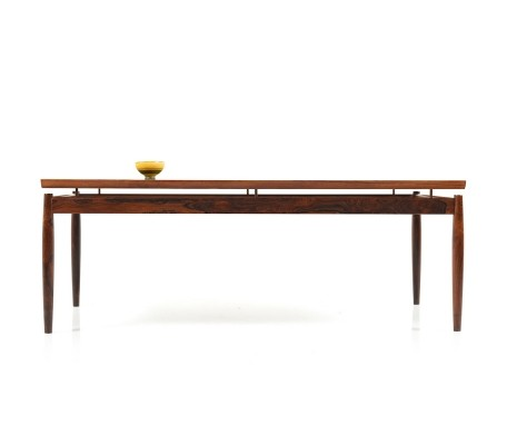 Rectangular Rosewood Sofa Table by Grete Jalk