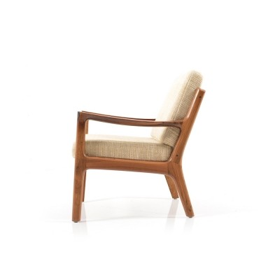 Rare Senator Easychair in Rosewood by Ole Wanscher