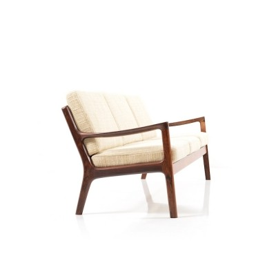 Rare Senator 3-Seater Sofa in Rosewood by Ole Wanscher