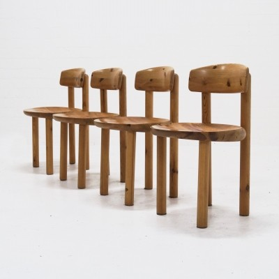 Set of 4 dinner chairs by Rainer Daumiller for Hirtshal Sawmill, 1960s