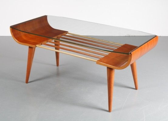 Coffee table by Cor Alons for Gouda den Boer, 1950s