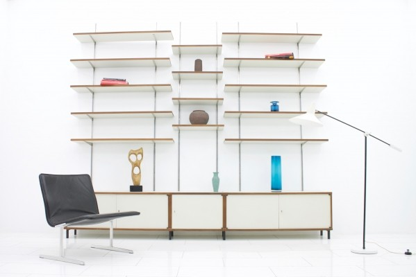 M125 wall unit by Hans Gugelot for Bofinger, 1960s