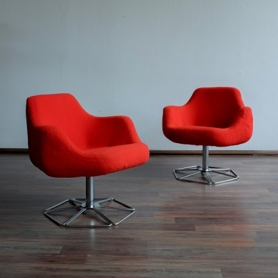 2 x Pille fotel lounge chair, 1970s