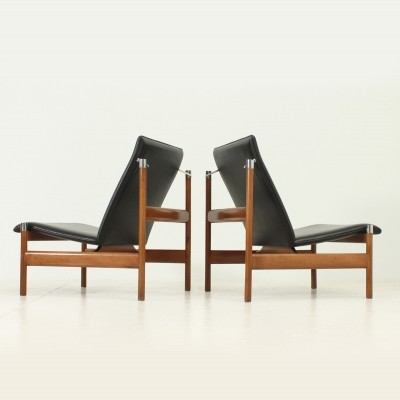 Pair of Sven Ivar Dysthe Lounge Chairs, 1960s