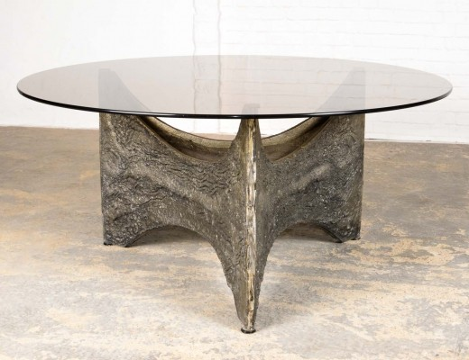 Mid-Century Brutalist Coffee Table, 1970s