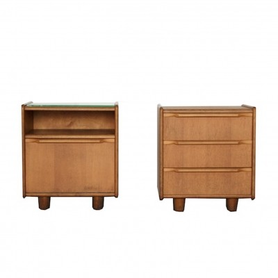 Pair of cabinets by Cees Braakman for Pastoe, 1950s