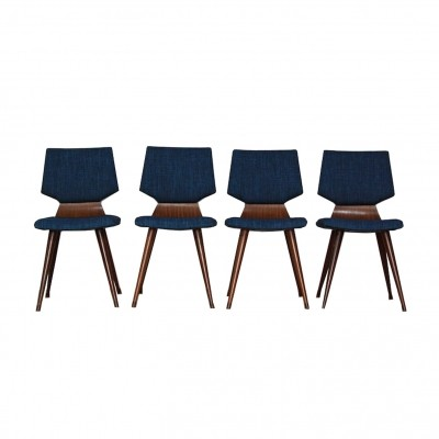 Set of 4 Cor Alons dinner chairs, 1950s