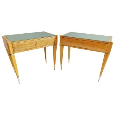 Pair of vintage side tables, 1950s