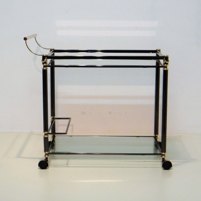 Bar serving trolley by Belgo Chrom, 1980s