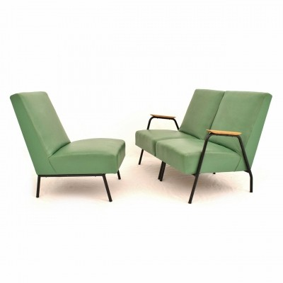 Reclame three piece modular sofa by Pierre Guariche for Trefac Meurop