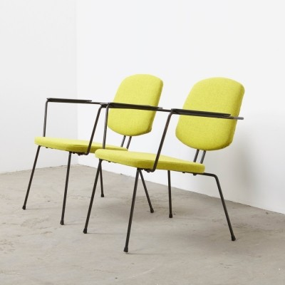 Pair of model 5003 lounge chairs by Rudolf Wolf for Elsrijk, 1950s