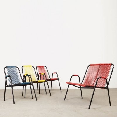 Set of 4 Spimeta Harkema seating groups, 1950s
