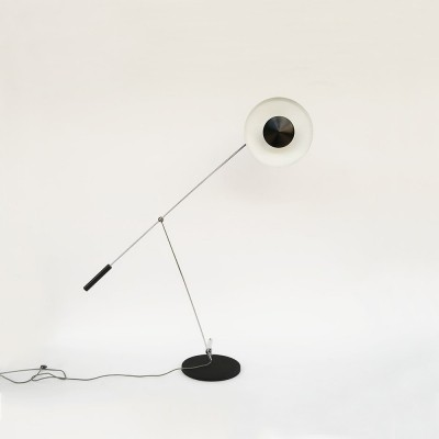 Type 600 floor lamp by Rico & Rosemarie Baltensweiler for Baltensweiler AG, 1960s