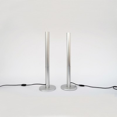 2 x S1 desk lamp by Rico & Rosemarie Baltensweiler for Baltensweiler AG, 1970s