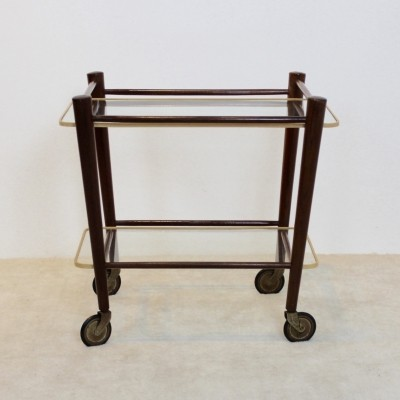 Elegant Serving Trolley by Cees Braakman for Pastoe, Netherlands 1950s