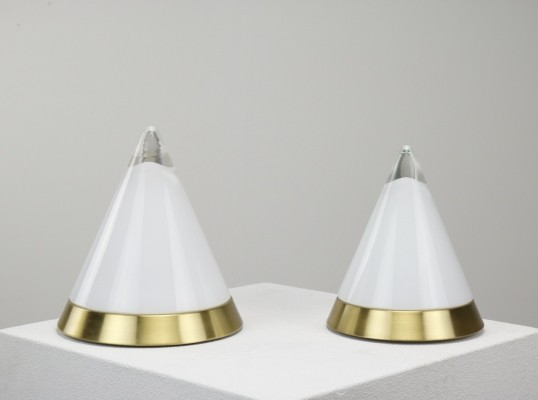 2 x Kibo desk lamp by Peill & Pützler, 1970s