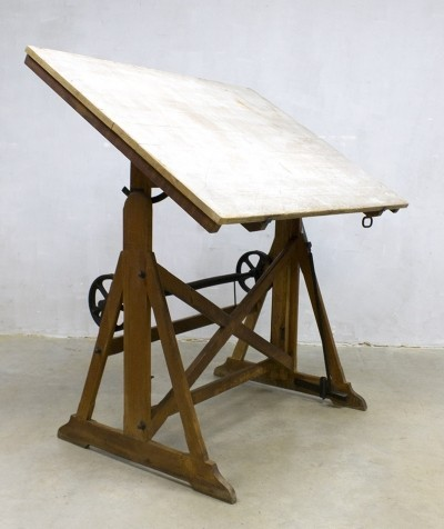 Ahrend en Zoon Drawing table, 1930s