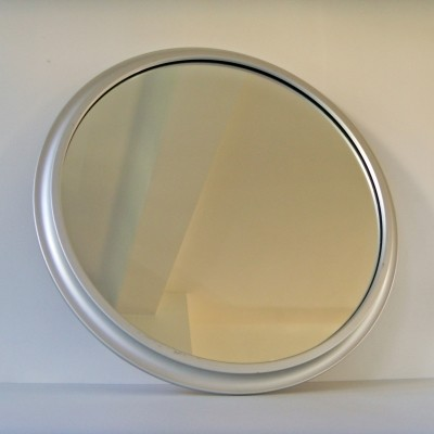 11 x large vintage silver mirror by Pierre Vandel