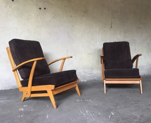 4 x vintage lounge chair, 1960s