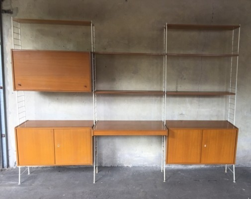 Sybille system DDR wall unit, 1960s