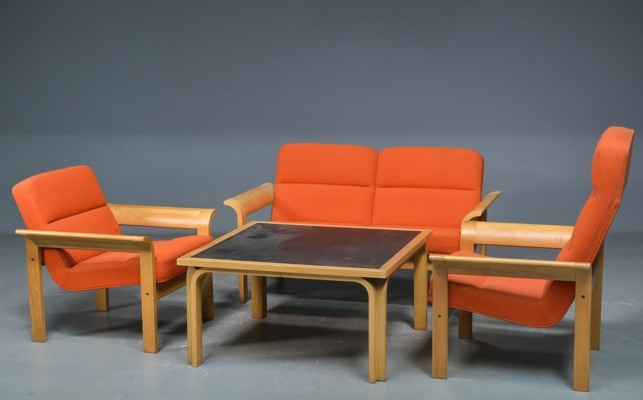 Seating group by Rud Thygesen & Johnny Sorensen for Magnus Olesen, 1970s