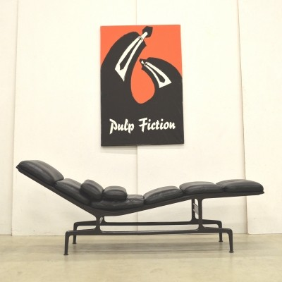 ES106 Chaise lounge chair by Charles & Ray Eames for Vitra, 1980s
