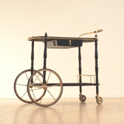 Cesare Lacca serving trolley, 1940s