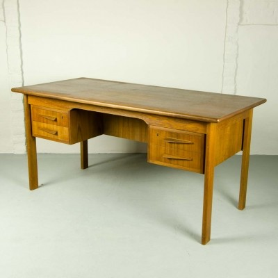 Scandinavian Teak Writing Desk, 1960s