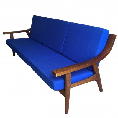 GE 530/3 sofa by Hans Wegner for Getama, 1970s