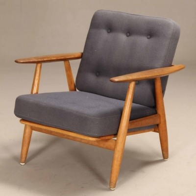GE 240 Cigar lounge chair by Hans Wegner for Getama, 1960s