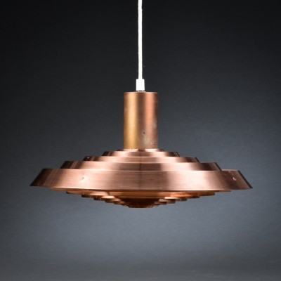 PH Plate (Tallerken) hanging lamp by Poul Henningsen for Louis Poulsen, 1950s