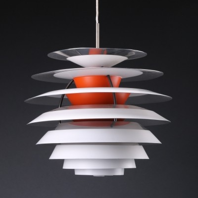 PH Contrast (Kontrast) hanging lamp by Poul Henningsen for Louis Poulsen, 1960s