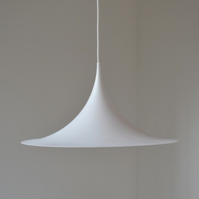 Semi / trumpet pendant hanging lamp by Claus Bonderup & Thorsten Thorup for Fog & Mørup, 1960s