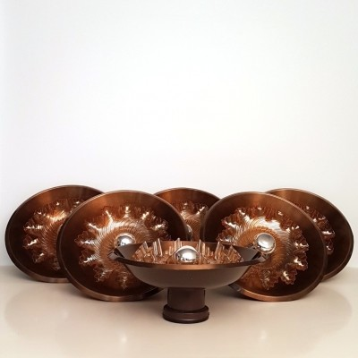 6 x vintage wall lamp, 1970s