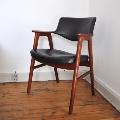 Model 43 arm chair by Erik Kirkegaard for Høng Stolefabrik, 1950s