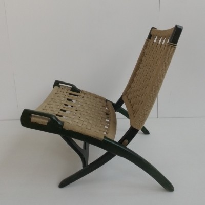 Folding rope chair by Ebert Wels, 1960s