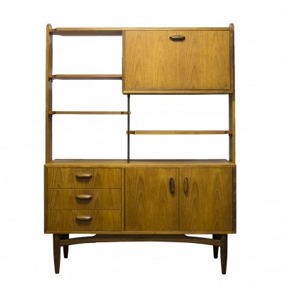 G Plan Scandi Teak Handle Room Divider unit, 1960s