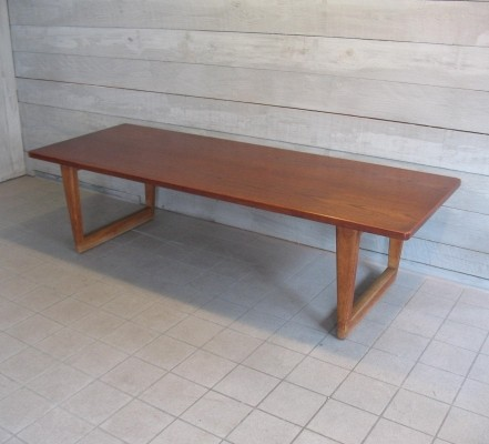 Coffee table by Børge Mogensen for Fredericia, 1950s