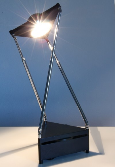 Kandido Table Lamp by F. A. Porsche for Luci Italy, 1983