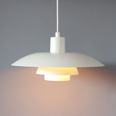 PH4/3 hanging lamp by Poul Henningsen for Louis Poulsen, 1980s