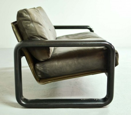 Leather Sofa 'Hombre' by Burkhard Vogtherr for Rosenthal Studio Line