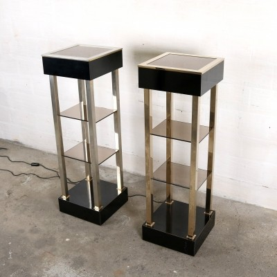 2 x vintage side table, 1970s