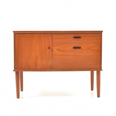 Small Danish Teak wooden Sideboard, 1950s
