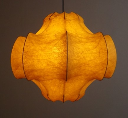 Viscontea hanging lamp by Achille Giacomo Castiglioni for Flos, 1960s