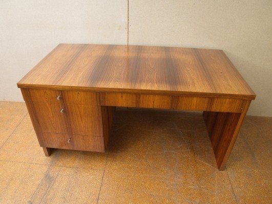 Rosewood writing desk, 1970s