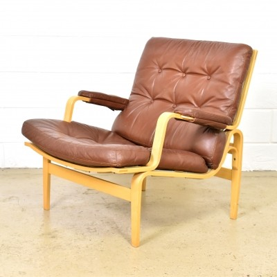 Ingrid lounge chair by Bruno Mathsson for Dux, 1970s